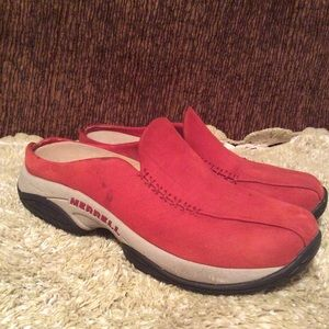 Merrell Women's Primo Ember Red Moc Shoes Sz 8